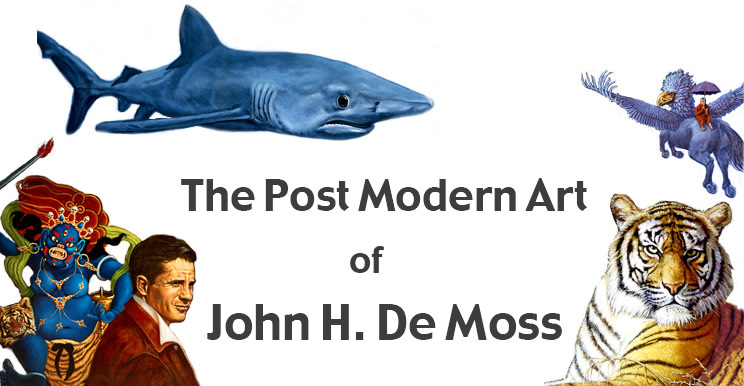 image The PostModern Art of John H. De Moss